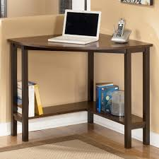 Computer Desk Corner Furniture Chic Corner Wood Computer Desk For Efficient Space