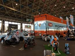 gulf racing truck nostalgic car festival nagoya 2016 gulf racing japan