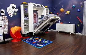 spaceship bed childrens bed for astronaut theme room