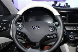 kia steering wheel kia u0027s impressive k900 luxury car photos business insider