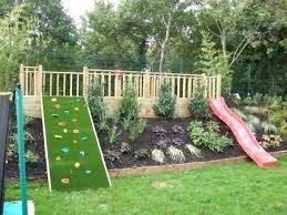 Landscaping Ideas For Sloped Backyard Sloping Lawn Ideas 8 Easy Affordable Kid Friendly Backyard Ideas