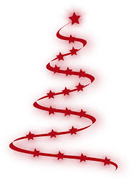 christmas tree with transparent background clipart