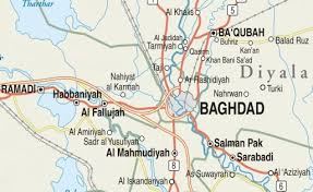 map of bagdad baghdad belts institute for the study of war