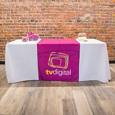 trade show table covers cheap shop trade show table covers and runners custom printed table