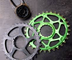 e13 srs chain guide absolute black oval chainring for race face cinch cranksets