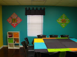 pre teen sunday class bright colors with scripture on the