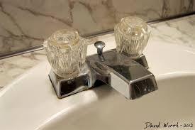 replace bathroom sink faucet home decorating interior design