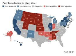 Where Is Utah On The Map by Map The Most Democratic And Republican States The Washington Post