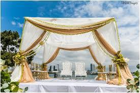 indian wedding mandap rental indian wedding at marriott coronado artquest flowers
