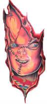 chucky horror tattoo sample tattoos book