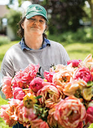 Arranging Flowers by Cathy Horyn Visits Floret Flowers