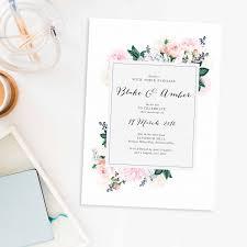 wedding invitations brisbane pastel floral wedding invitations berries sail and swan
