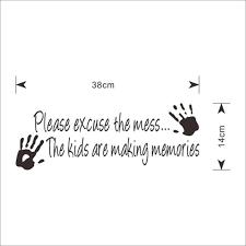 chambre de pute ჱpute votre les mains faire souvenirs vinyle sticker mural pour