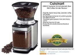Kitchenaid Burr Coffee Grinder Review Cuisinart Dbm 8 Supreme Grind Automatic Burr Mill Coffee Grinder