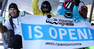 now open mountain high becomes socal resort open for 2017