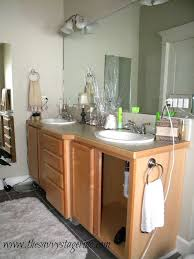 Bathroom Ideas Paint How To Frame A Builder Grade Mirror A Breakdown Of The Details