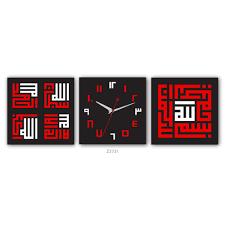 hourhome kufi art wall clock z3731 lazada malaysia