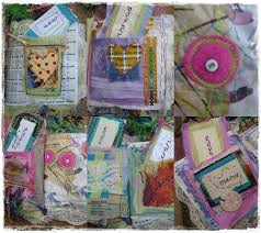 fabric photo album sujati mixed media and textile fabric album
