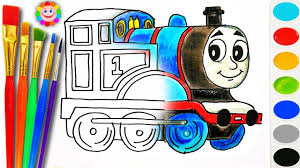 coloring thomas fiends draw thomas tank engine
