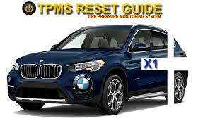 reset tyre pressure bmw 3 series bmw x1 tpms tire pressure monitoring system reset tutorial