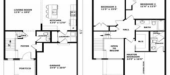 Two Story House Plans With Balconies Modern Two Story House Plans Two Story House With Balcony Home