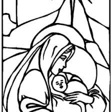 coloring page of baby jesus and mary archives mente beta most