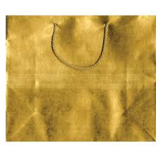 gold gift bags large paper gift bag antique gold caspari 93920b3