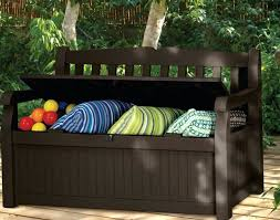 bench deck storage box bench plans full size of benchdeck