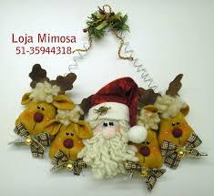 projeto rostinhos de noel e renas adornos navideños pinterest
