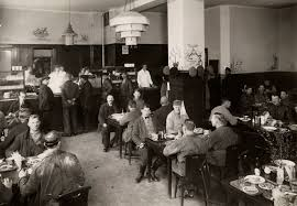 third class dining room in restaurant shanghai 1915 1925 in