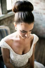 hairstyles with a hair donut wedding hairstyle with donut bun girls hair ideas
