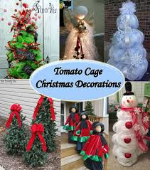 tomato cage christmas decorations http www