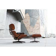 Lounge Chair And Ottoman Eames by Lounge Chair Ottoman Eames Replica Premium Black