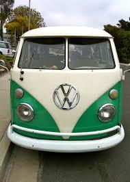 volkswagen guagua green laker down on the street