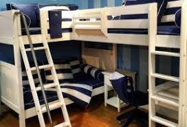 L Shaped Loft Bunk Beds Foter - L bunk bed
