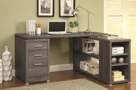 grey office desk crafts home