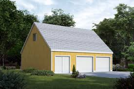 22x22 2 Car 2 Door Detached Garage Plans by Garages Garage Plans 84 Lumber