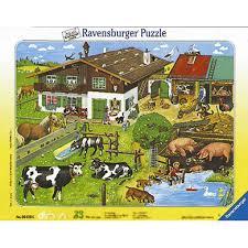 ravensburger 33 animal families puzzle baby markt