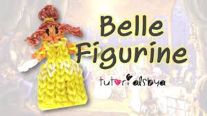 Tutorials By A Disney Princess Series Belle Rainbow Loom Action Figure Figurine