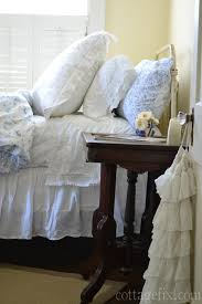 shabby chic bedding for a dreamy cottage look cottage fix
