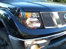 nissan frontier airbag light blacked out headlight mod finally finished check it out nissan