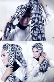 tutorial turban sederhana tutorial hijab tilan turban sederhana untuk sehari hari