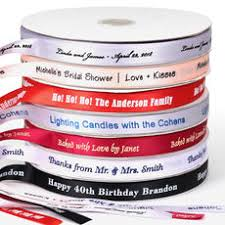 personalized ribbon personalized ribbons the stationery studio