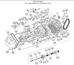 2001 ford windstar transmission assembly diagram transmission