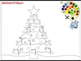 christmas tree coloring pages kids christmas tree coloring