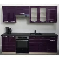 meuble cuisine violet meuble cuisine couleur aubergine 14 facade cuisine violet