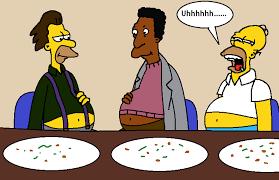 a big thanksgiving dinner by catfan180 on deviantart
