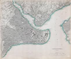 Map Of Istanbul File 1840 S D U K Map Of Constantinople Istanbul Turkey