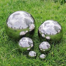 stainless steel garden ornaments ebay
