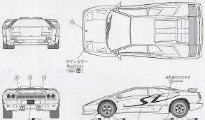 lamborghini diablo drawing car lamborghini diablo sv 1998 the photo thumbnail image of